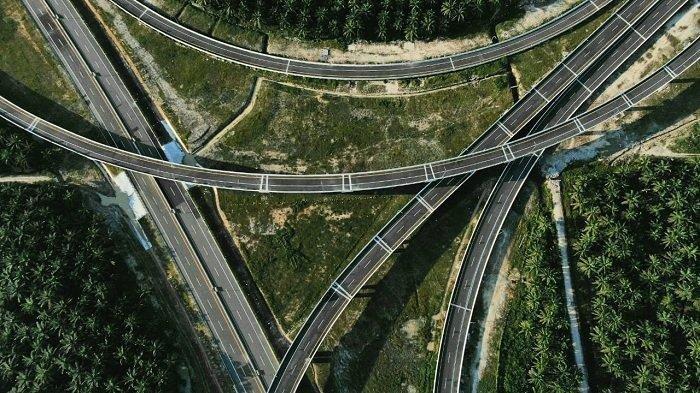 9 Ruas Jalan Tol Trans Sumatera dan Rest Area Khusus UMKM Masih Dikerjakan
