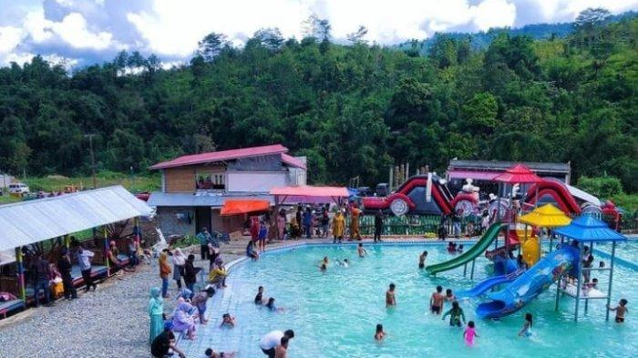 Wisata Akhir Pekan di Kerinci, Waterpark Pancoe7, Seru-Seruan Bersama Keluarga di Kolam Renang