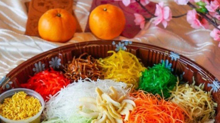 Tribunners Mau Tahu Cara Membuat Yu Sheng, Kuliner Khas Imlek Yang Menyehatkan, Berikut Resepnya