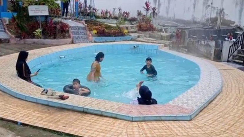 Pemandian Air Panas di Desa Sungai Tutung Kerinci Ini Wajib Dikunjungi Traveller