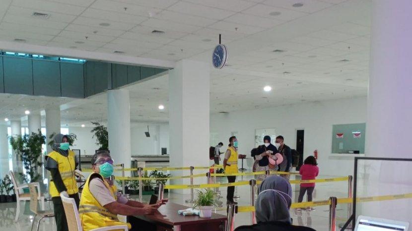 Traveller, Bandara Sultan Thaha Jambi Sudah Menyediakan Layanan Rapid Test Antigen