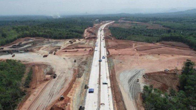 Tiga Ruas Jalan Tol Trans Sumatera Terpanjang Selama Tahun 2020