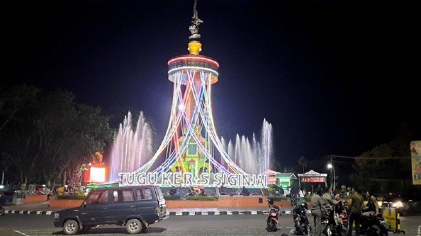 Minimalisir Kerumunan Saat Malam Tahun Baru di Kota Jambi, Ratusan Petugas Gabungan Berjaga