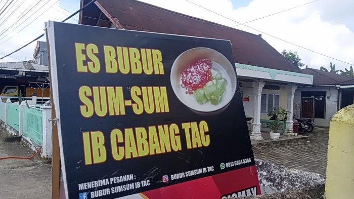 Bubur Sumsum TAC memang sudah dikenal masyarakat secara luas di Kota Jambi