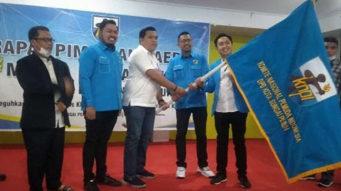 Anggota DPRD Termuda Hutri Randa Pimpin KNPI Kota Sungai Penuh