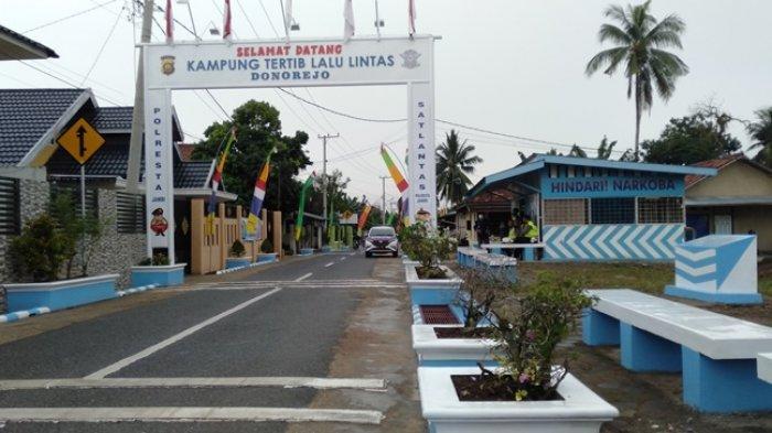Jalan Donorejo Kota Jambi Wakili Jambi Ikut Penilaian Kampung Tertib Lalu Lintas Tingkat Nasional