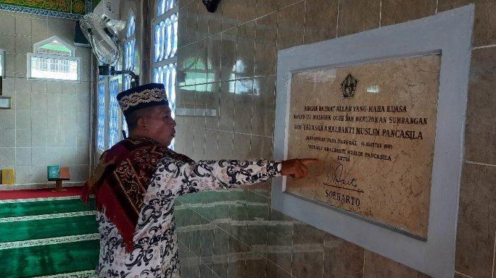 Masjid Besar Al Hidayah atau yang populer disebut Masjid Pancasila di Kota bangko, Kabupaten Merangin