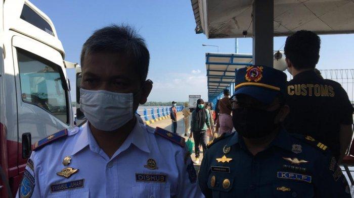 Pelabuhan RoRo di Kuala Tungkal Tetap Beroperasi Selama Waktu Larangan Mudik
