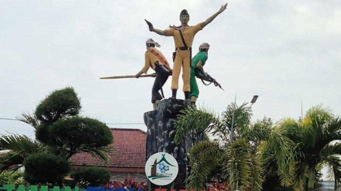Sejarah Pendirian Tugu Juang di Pusat Kota Muarojambi di Kelurahan Sengeti