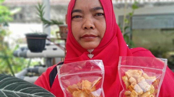 Kreatifnya Manisa Pemilik UMKM Anisa, Bisa Buat Kuliner Sampai Keset Kaki