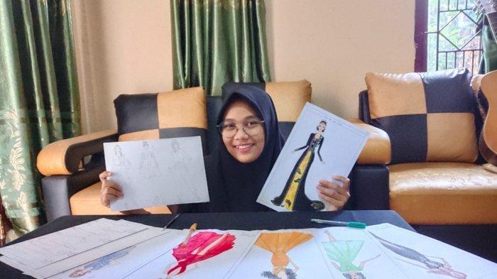 Nadia Anggrainy Tarigan, Desainer Muda Jambi, Punya Ciri Khas Satu Set Busana Bisa Jadi 5 Style