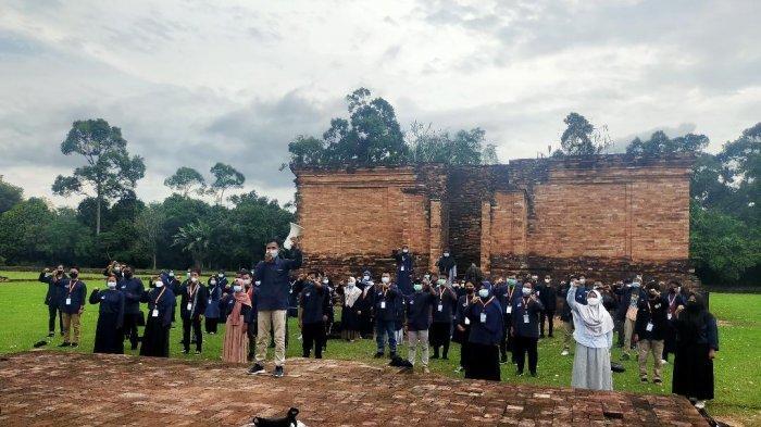 Penututupan Rakornas Imakipsi Sengaja Dilakukan di Candi Muarojambi