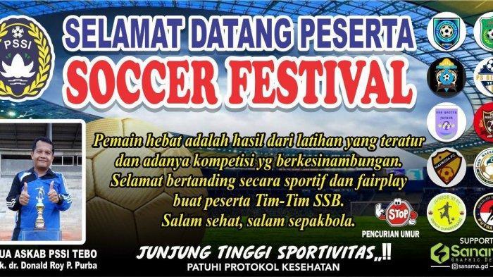 Buruan Daftar, PSSI Tebo Buka Seleksi Pemain Sepakbola U-16 dan U-19