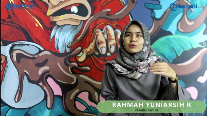 Kisah Rahma Yuniarsih Penulis Milenial dari Jambi Yang Bertekad Suarakan Perempuan Hebat