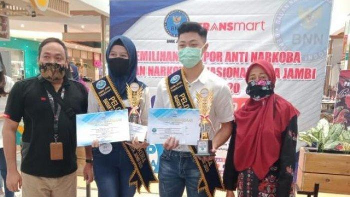 Juara 1 Pemenang Pemilihan Pelopor Anti Narkoba dari SMA Xaverius 1 Jambi