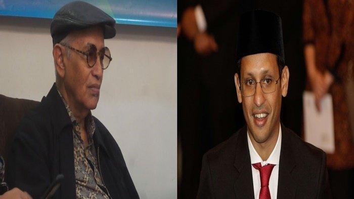 Harapan Salim Said pada Menteri Pendidikan Jokowi, Nadiem Makarim agar Tularkan 50% Budaya Baca