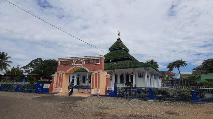 Menelisik Keberadaan Masjid Pancasila di Kota Bangko Yang Diresmikan Presiden Soeharto