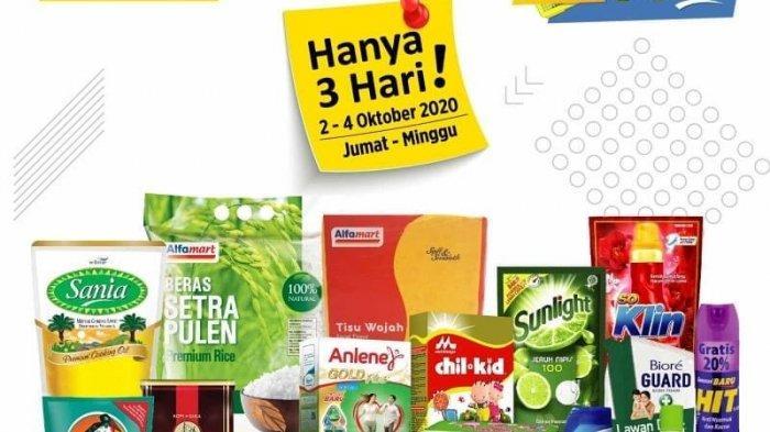 Katalog Belanja Promo Alfamart Jumat Sabtu Minggu Khusus Akhir Pekan Periode 2-4 Oktober 2020