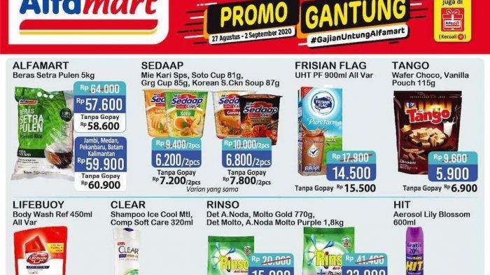 Alfamart Promo Gajian Untung Periode 27 Agustus-2 September 2020, Dapatkan Tambahan Promo Lainnya