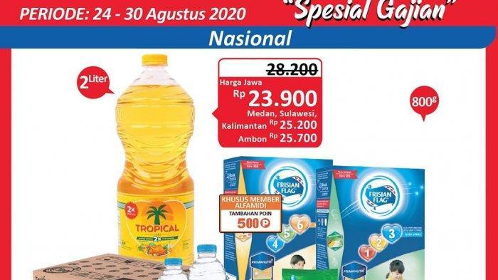 Promo Alfamidi Hemat Satu Pekan periode 24-30 Agustus 2020, Berbagai Promosi dan Penawaran Spesial