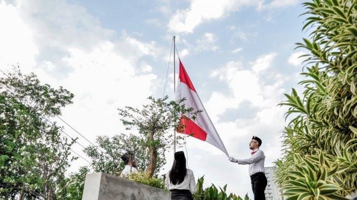 Rayakan HUT RI Ke-75, Artotel Gajahmada Semarang Gelar Upacara Dengan Protokol Kesehatan