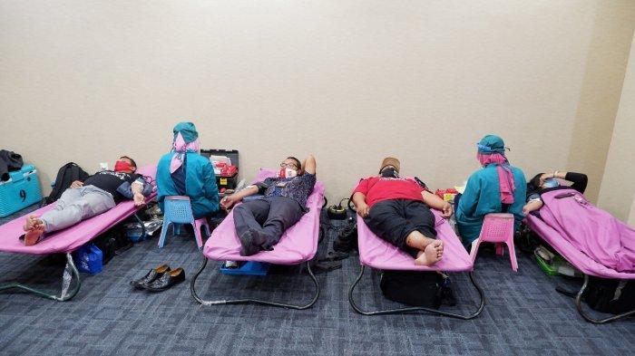 Donor Darah Aston Inn Pandanaran Adakan Semangat Kemerdekaan Untuk Sesama Berprotokol Kesehatan