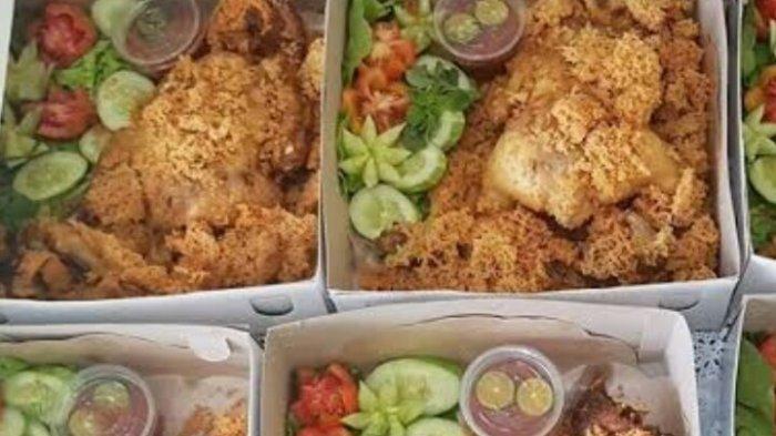 Ayam Goreng Kremes Wakoel Catering, Hanya Rp 45 Ribu Per Porsi, Diantar Sampai Depan Rumah Loh!