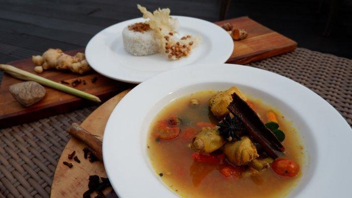Resep Ayam Kurkuma Herbal dari Aston Inn Hotel Pandanaran Semarang