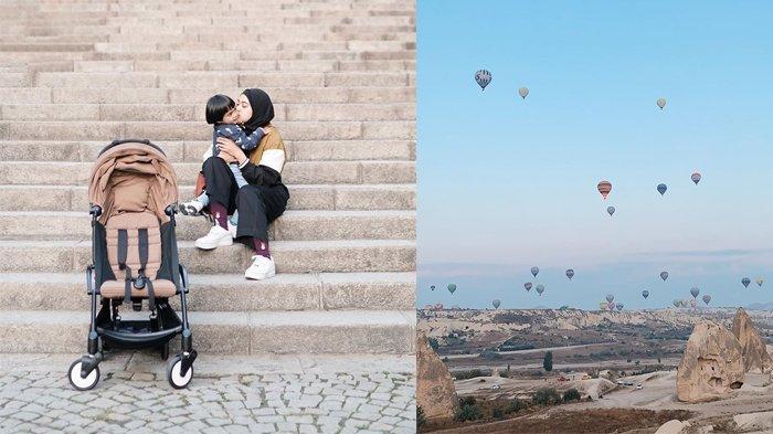 Liburan ke Turki, Ayudia Bing Slamet Gagal Naik Balon Udara di Cappadocia