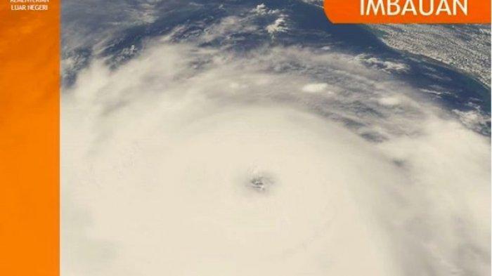 Imbauan Kemlu Terkait Badai Laura di Amerika Serikat