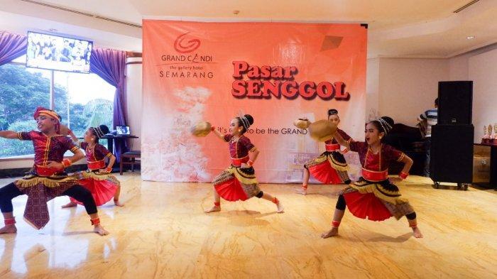 Pasar Senggol Beat of Indonesia Merangkul Generasi Muda Lestarikan Tari Tradisional