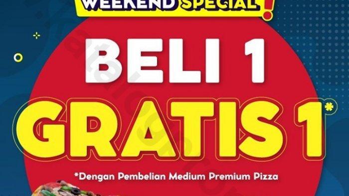 Jangan Lewatkan Promo Hari Terakhir Spesial Akhir Pekan Domino's Pizza, Beli 1 Gratis 1