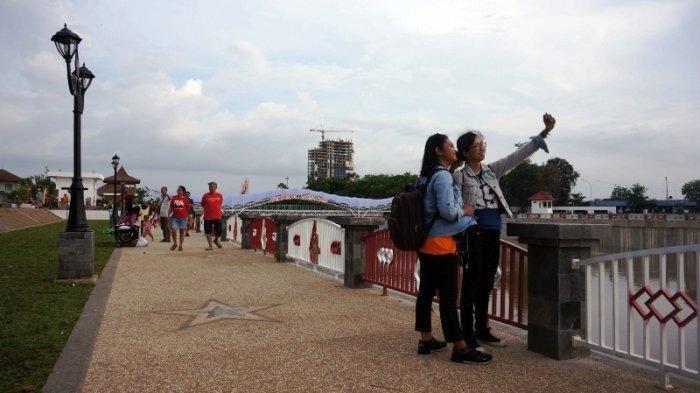 Menjelajah Bendungan Baru di Tengah Kota Solo, Bendungan Tirtonadi yang Dulunya Wilayah Kumu