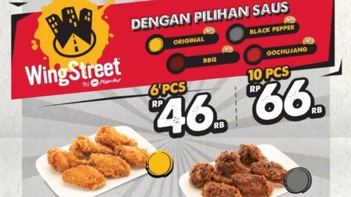 PHD Chicken Wing Street Hadir Dengan 4 Pilihan Rasa baru, Harga Mulai Rp 46 Ribu