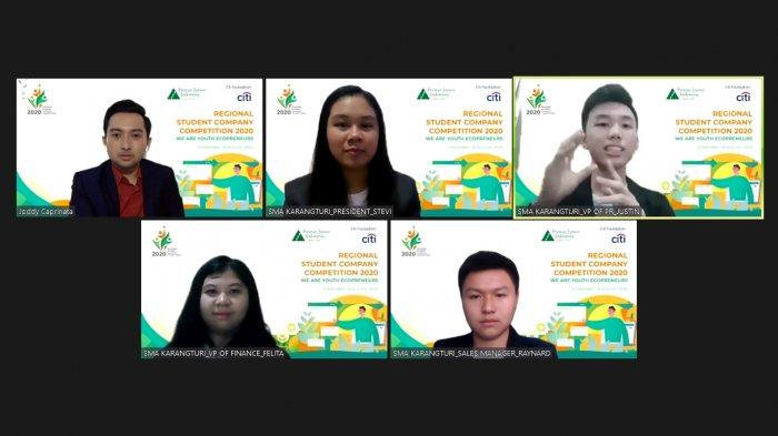 Citi Indonesia dan Prestasi Junior Indonesia Latih Kelola Bisnis Berorientasi Lingkungan