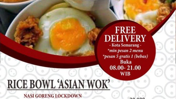 Hotel Dafam Semarang Luncurkan Rice Bowl Delivery dan Jamu Anticorona, Ada Nasi Goreng Lockdown
