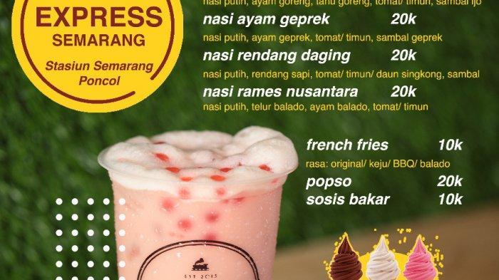Persembahan Loko Express Semarang, Tetap Jajan dan Makan Meski #KerjaDariRumah dan #BelajarDariRumah