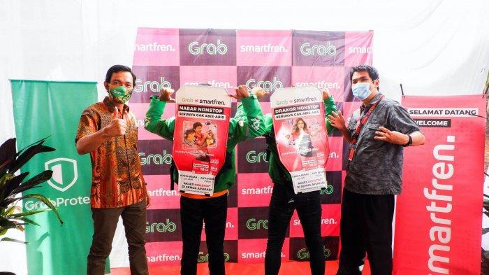 Grab dan Smartfren Hadirkan 700 Armada GrabBike Protect di Jawa Tengah