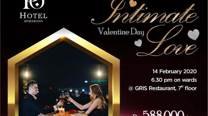Makan Malam Romantis di Atas Kolam Renang di Gris Restaurant & Bar Saat Valentine, Hanya Rp 588 Ribu