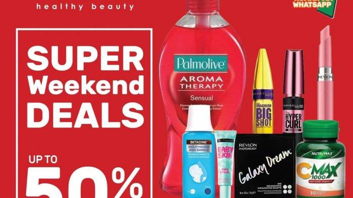 Guardian Super Weekend Deals Up To 50% Off Periode 27-30 Agustus 2020