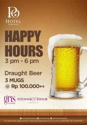 Happy Hours di Po Hotel Semarang, Tiga Gelas Bir Cuma Rp 100 Ribu