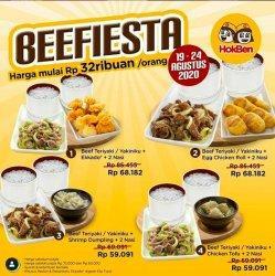 Beef Lover Party dari Hokben Tawarkan Daging Tanpa Lemak Hanya Rp 32 Ribu, Sampai 24 Agustus 2020