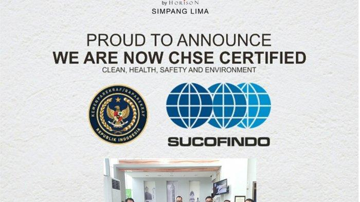Hotel @Hom Simpang Lima Semarang Lolos Sertifikasi CHSEKemenparekraf RI