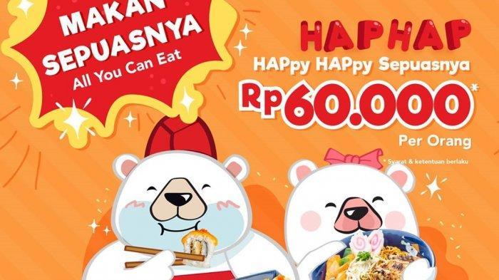 Promo Haphap Makan Sepuasnya Ichiban Sushi Hanya Rp 60 Ribu, Berlaku Senin dan Kamis Selama Oktober
