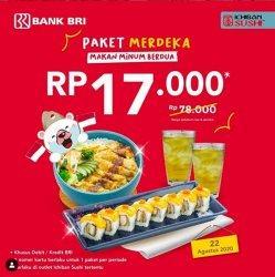 Paket Promo Ichiban Sushi Hanya Rp 17 Ribu dari Harga Rp 78 Ribu, Dapat Dua Paket Untuk Makan Berdua