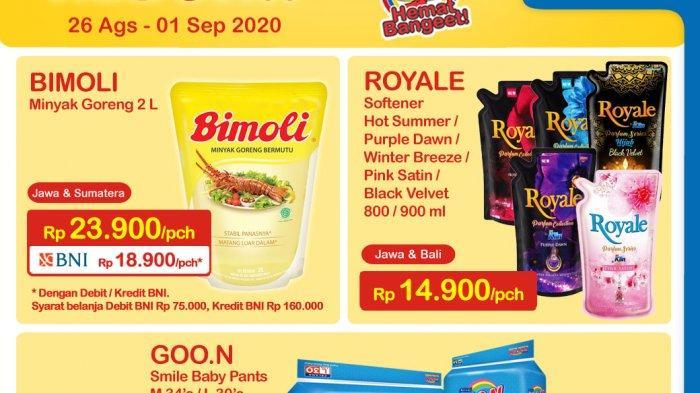 Promo Harga Heboh Indomaret Untuk Minyak Murah dan Susu Murah Periode 26 Agustus-1 September 2020