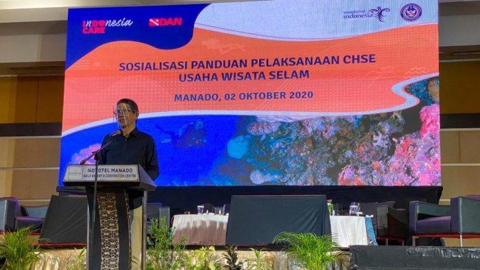 Kemenparekraf Imbau Pelaku Usaha Wisata Selam Terapkan Protokol CHSE