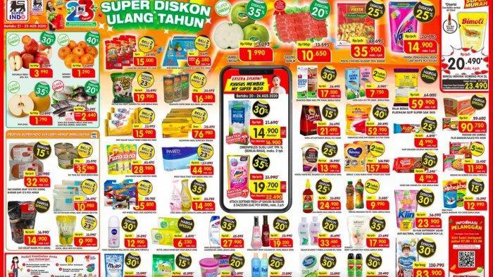 Promosi Lion Superindo JSM 21-23 Agustus 2020, Diskon Hingga 40% dan Beli 2 Dapat 3