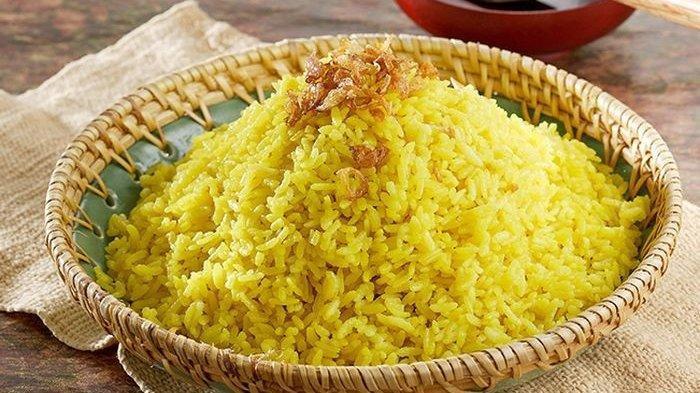 Ternyata Memasak Nasi Kuning Atau Nasi Uduk Bisa Menggunakan Rice Cooker, Berikut Caranya