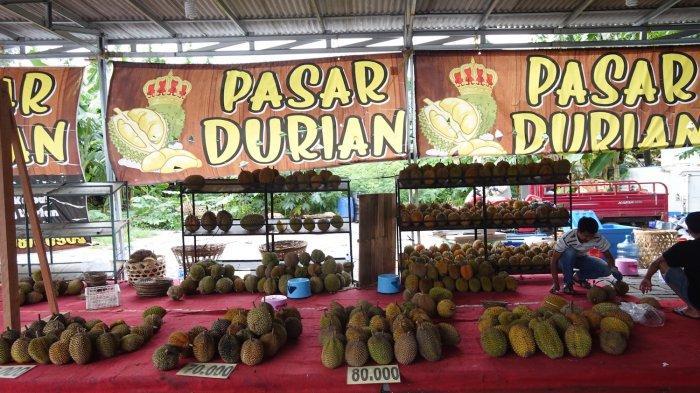 Durian Mulai Rp 50 Ribu di Pasar Durian Jalan Pemuda Kota Semarang, Garansi Tukar Bila Tak Manis